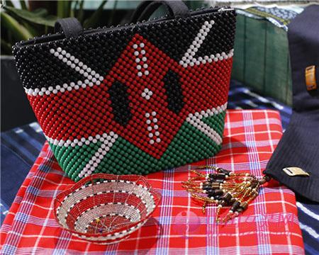 肯尼亚纺织品艺术亮相环东华时尚周(图1)